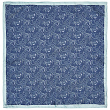 Buy John Lewis Pocket Square, Blue Online at johnlewis.com