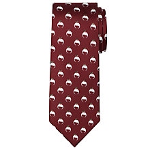 Buy John Lewis Christmas Pudding Silk Tie Online at johnlewis.com