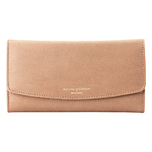 Buy Aspinal of London Brook Street Purse Leather Wallet, Deer Brown Online at johnlewis.com