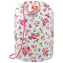 Buy Cath Kidston Drawstring Bramley Sprig Barrel Bag, Pink Online at johnlewis.com