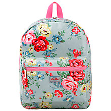 Buy Cath Kidston Children's Park Rose Rucksack, Blue Online at johnlewis.com