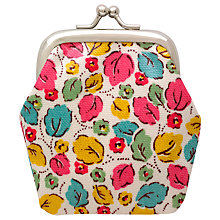 Buy Cath Kidston Children's Little Leaves Mini Clasp Purse, Multi Online at johnlewis.com