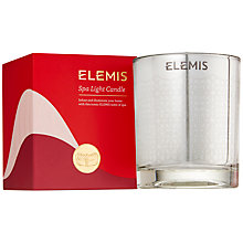 Buy Elemis Spa Light Candle Online at johnlewis.com