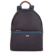 Buy Ted Baker Brandor Backpack, Navy Online at johnlewis.com