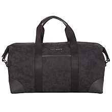 Buy Ted Baker Splintr Holdall, Black Online at johnlewis.com