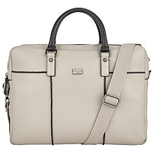 Buy Ted Baker Krisbro Document Bag, Natural Online at johnlewis.com