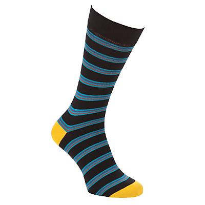 Ted Baker Bestow Striped Socks, One Size