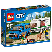 Buy LEGO City 60117 Van And Caravan Online at johnlewis.com