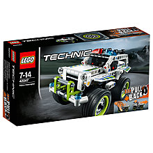 Buy LEGO Technic Police Interceptor Online at johnlewis.com