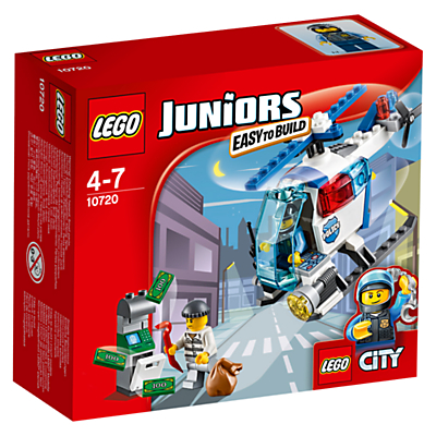LEGO Juniors City Police Helicopter Chase