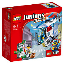 Buy LEGO Juniors City Police Helicopter Chase Online at johnlewis.com