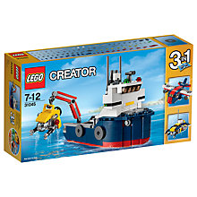 Buy LEGO Creator 31045 3-in-1 Ocean Explorer Online at johnlewis.com