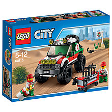 Buy LEGO City 60115 4 X 4 Off Roader Online at johnlewis.com