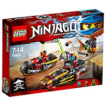 Buy LEGO Ninjago Ninja Bike Chase Online at johnlewis.com