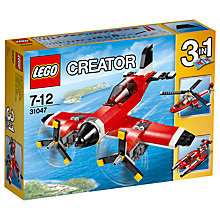 Buy LEGO Creator 31047 Propeller Plane Online at johnlewis.com