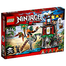 Buy LEGO Ninjago Tiger Widow Island Online at johnlewis.com