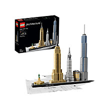 Buy LEGO Architecture 21028 New York City Online at johnlewis.com