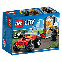 Buy LEGO City 60105 Fire ATV Online at johnlewis.com