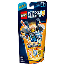Buy LEGO Nexo Knights Ultimate Robin Online at johnlewis.com