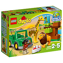 Buy LEGO DUPLO Savanna Bundle with Free Duplo Snail Online at johnlewis.com