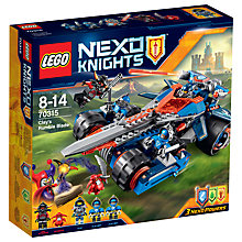 Buy LEGO Nexo Knights Clay's Rumble Blade Online at johnlewis.com