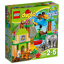 Buy LEGO DUPLO Jungle Bundle with Free Duplo Snail Online at johnlewis.com