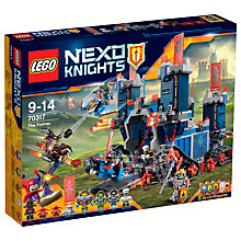Buy LEGO Nexo Knights The Fortrex Online at johnlewis.com