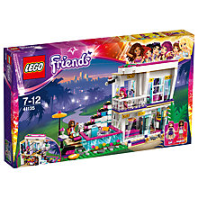 Buy LEGO Friends Livi's Pop Star House Online at johnlewis.com
