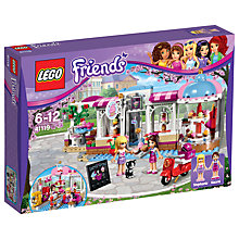 Buy LEGO Friends Heartlake Cupcake Cafe Bundle with Free Activity Book Online at johnlewis.com