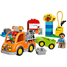 Buy LEGO DUPLO Tow Truck Online at johnlewis.com
