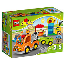 Buy LEGO DUPLO Tow Truck Bundle with Free Duplo Snail Online at johnlewis.com