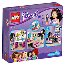 Buy LEGO Friends Emma Creative Workshop Online at johnlewis.com