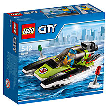 Buy LEGO City Race Boat Online at johnlewis.com
