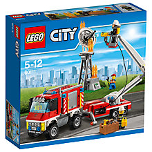 Buy LEGO City Fire Utility Truck Bundle with Free Watch Online at johnlewis.com