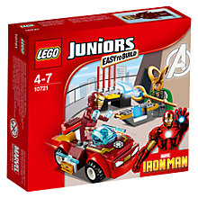 Buy LEGO Juniors Marvel Iron Man Vs Loki Online at johnlewis.com