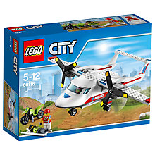Buy LEGO City Ambulance Plane Online at johnlewis.com