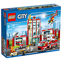 Buy LEGO City Fire Station Bundle with Free Watch Online at johnlewis.com