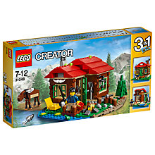 Buy LEGO Creator 3-in-1 Lakeside Lodge Online at johnlewis.com