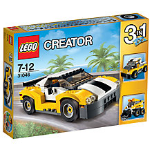 Buy LEGO Creator 31046 3-in-1 Fast Car Online at johnlewis.com