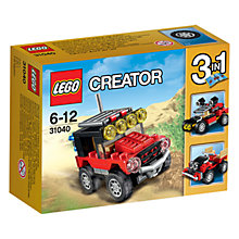 Buy LEGO Creator 3-in-1 Desert Racers Online at johnlewis.com