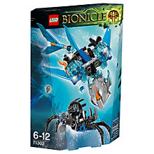 Buy LEGO Bionicle Akida Creature Water Online at johnlewis.com