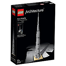 Buy LEGO Architecture 21031 Burj Khalifa Online at johnlewis.com