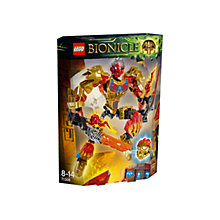 Buy LEGO Bionicle Tahu Uniter Of Fire Online at johnlewis.com