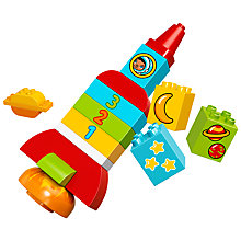 Buy LEGO DUPLO 10815 My First Rocket Online at johnlewis.com