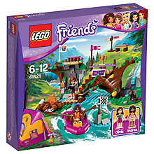 Buy LEGO Friends Adventure Camp Rafting Bundle with Free Activity Book Online at johnlewis.com