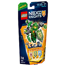 Buy LEGO Nexo Knights Ultimate Aaron Online at johnlewis.com