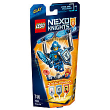 Buy LEGO Nexo Knights 70330 Ultimate Clay Online at johnlewis.com