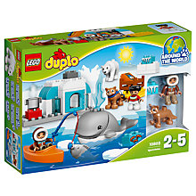 Buy LEGO DUPLO Arctic Bundle with Free Duplo Snail Online at johnlewis.com