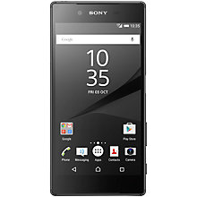 "Buy Sony Xperia Z5 Smartphone, Android, 5.2"", 4G LTE, SIM Free, 32GB Online at johnlewis.com"