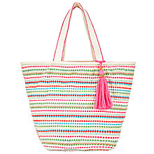 Buy Collection WEEKEND by John Lewis Stripe Tote Bag, Multi Online at johnlewis.com
